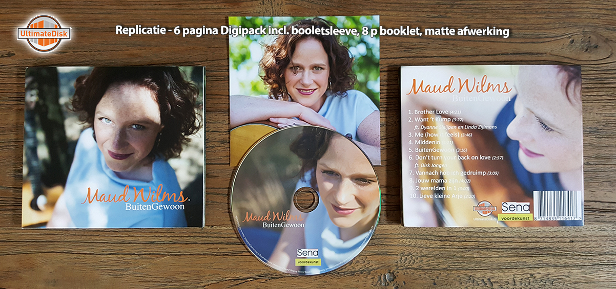 6p Digipack - Maud Wilms 1