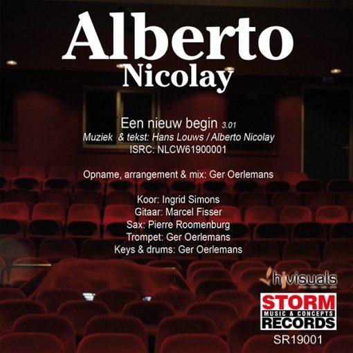 Alberto Nicolay - Een nieuw begin (Back)