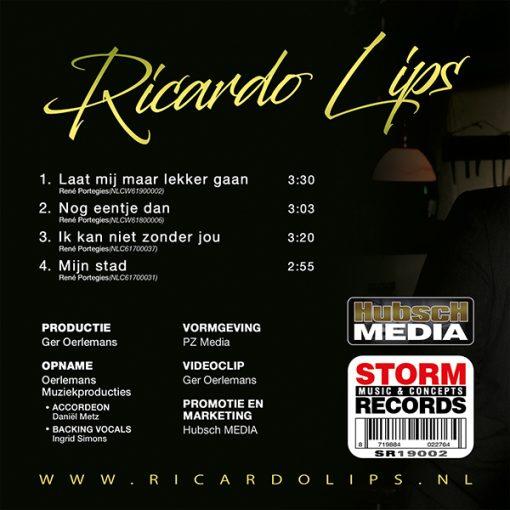 Ricardo Lips - Laat mij maar lekker gaan (Back)