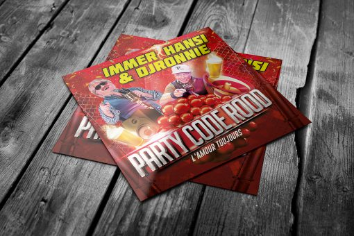 Immer Hansi & DJ Ronnie - Party Code Rood (singles)