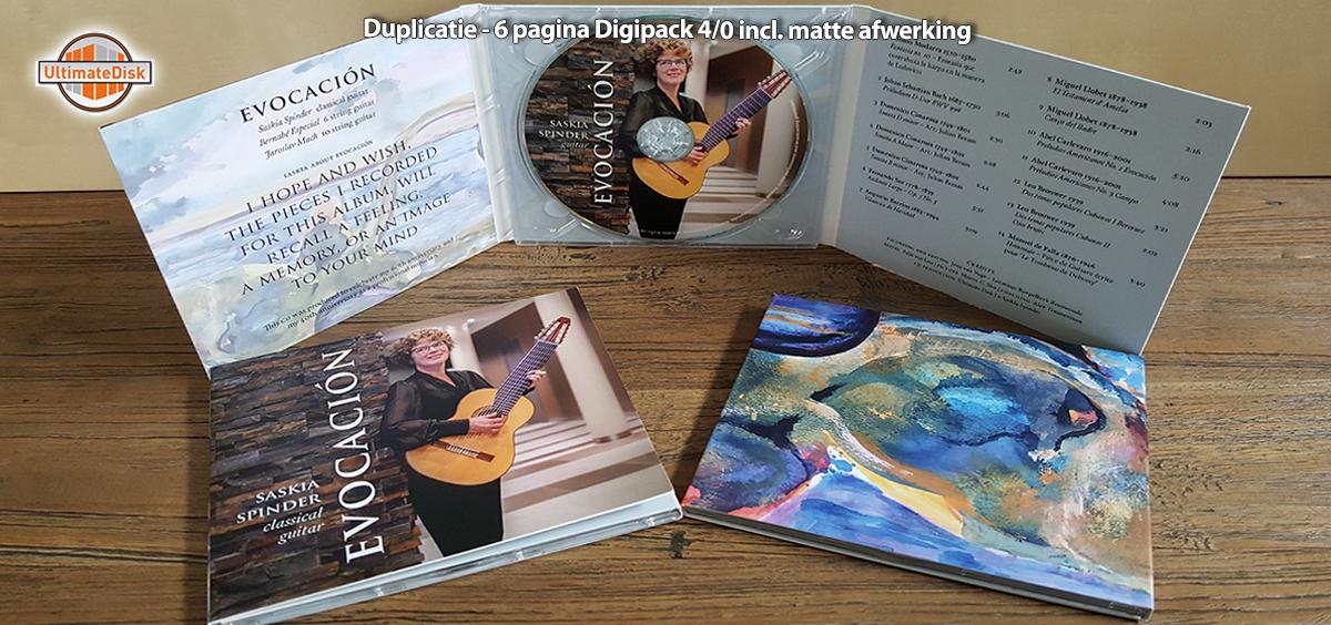 6p Digipack - Saskia Spinder