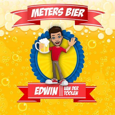 Edwin van der Toolen - Meters bier (Front)