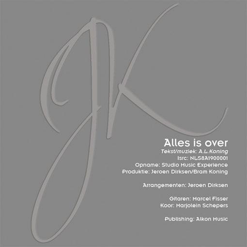 Johan Kettenburg - Alles is over (Back)