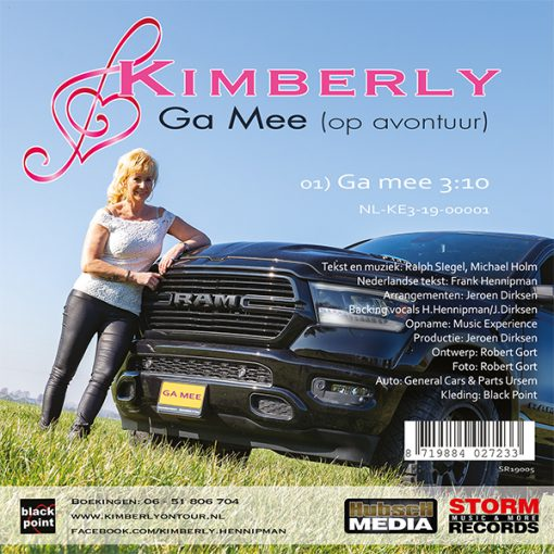 Kimberly - Ga mee (op avontuur) (Back)