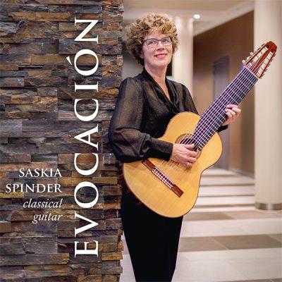 Saskia Spinder - Evocación (Front)