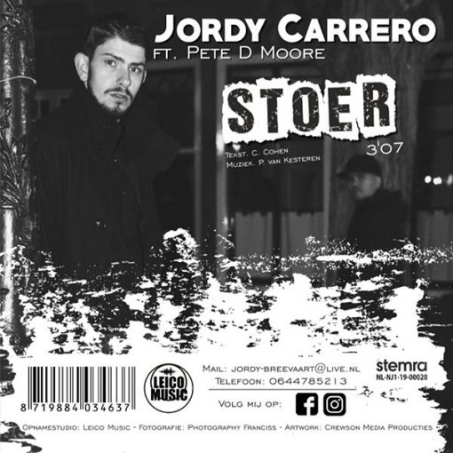Jordy Carrero - Stoer (Back)