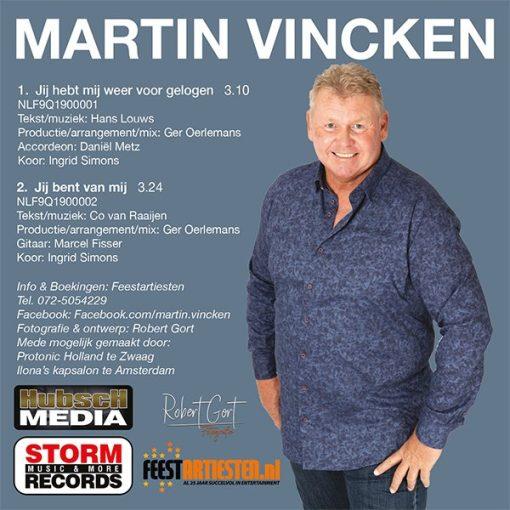 Martin Vincken - Jij hebt mij weer voorgelogen (Back)
