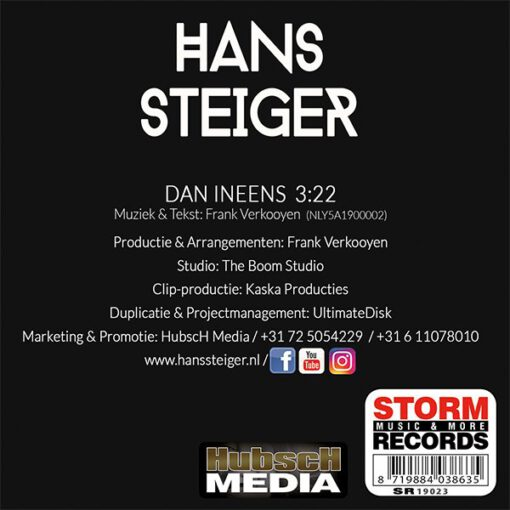 Hans Steiger - Dan Ineens (Back)