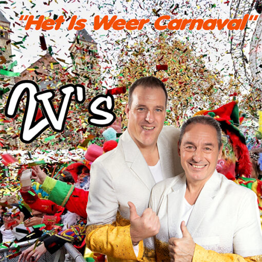 2V's - Het is weer Carnaval (Front)