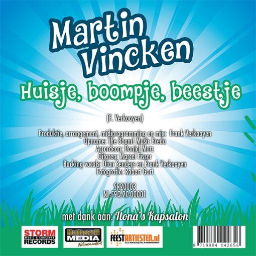Martin Vincken - Huisje, boompje, beestje (Back)