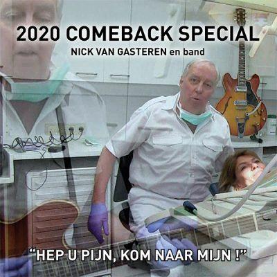 Nick van Gasteren - Heb U Pijn, Kom Naar Mijn (Front)