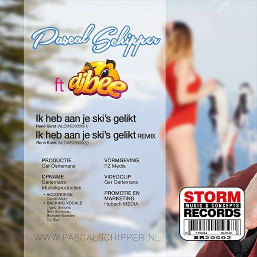 Pascal Schipper ft DJ Bee - Ik Heb Aan Je Ski's Gelikt (Back)