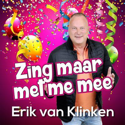 Erik van Klinken - Zing maar met me mee (Front)