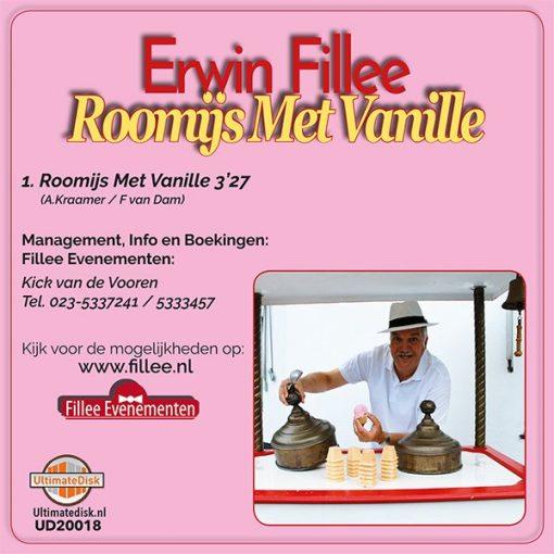 Erwin Fillee - Roomijs met vanille (Back)