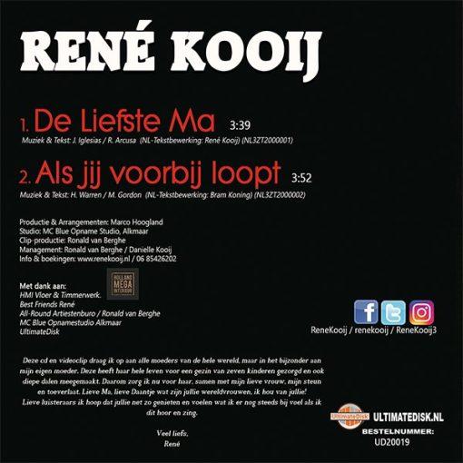 René Kooij - De liefste ma (Back)