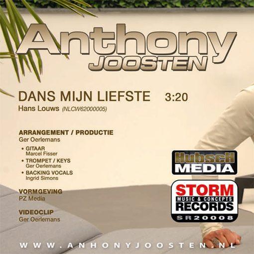 Anthony Joosten - Dans mijn liefste (Back)