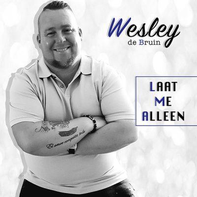 Wesley de Bruin - Laat me alleen (Front)
