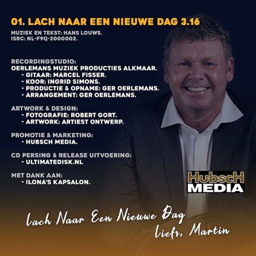 Martin Vincken - Lach naar een nieuwe dag (Back)