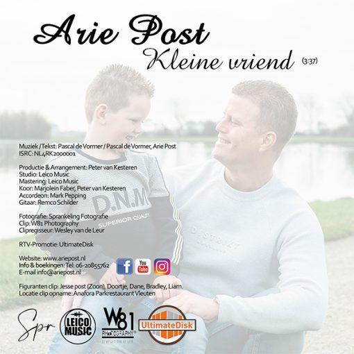 Arie Post - Kleine Vriend (Back)