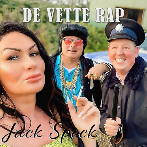 Jack Speck - De Vette Rap (Front)
