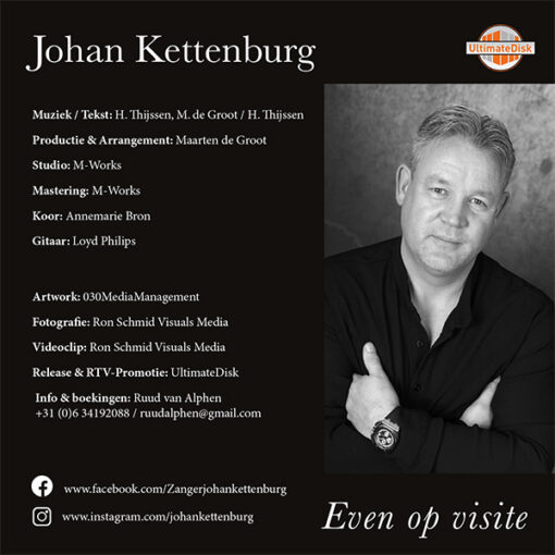 Johan Kettenburg - Even op visite (Back)