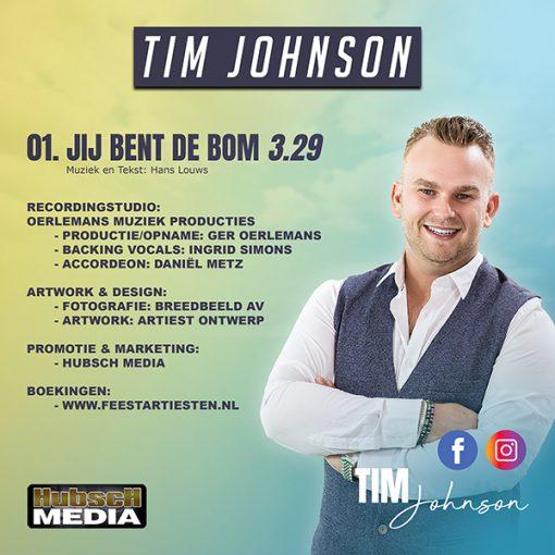 Tim Johnson - Jij bent de bom (Back)