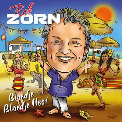 Rob Zorn - Bloedje Bloedje Heet (Front)