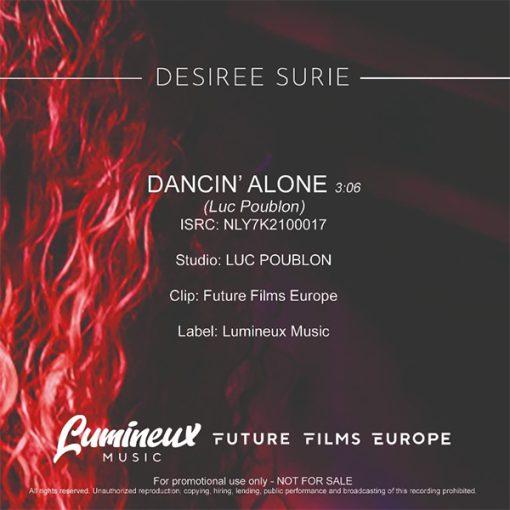 Desiree Surie - Dancin' Alone (Back)