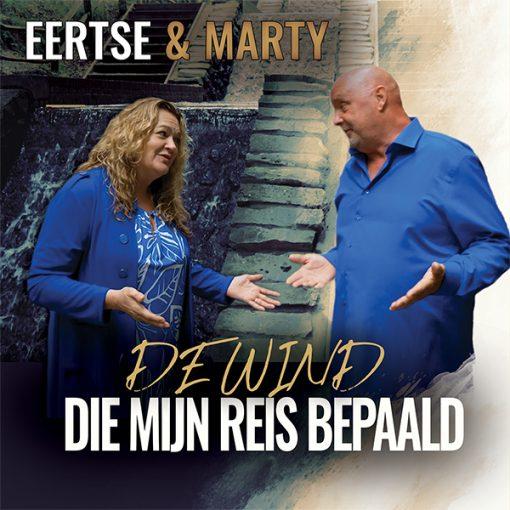 Eertse & Marty - De wind die mijn reis bepaald (Front)