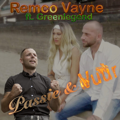 Remco Vayne - Passie en Vuur (Front)